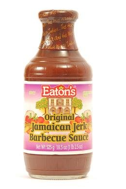 Eaton's Original Jamaican Jerk BBQ Sauce 18.5 oz