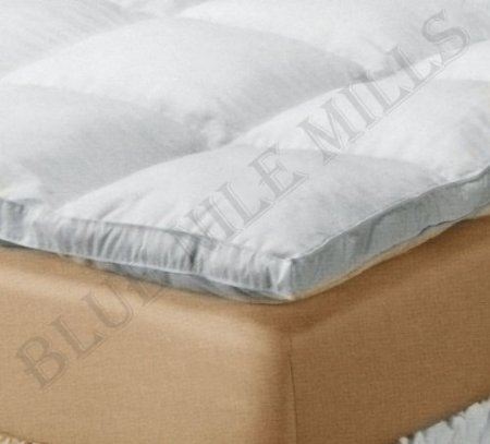 Best Buy! ALL SEASON DOWN ALTERNATIVE MATTRESS TOPPER - 230TC SHELL.