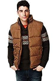North Coast Funnel Neck Panelled Gilet