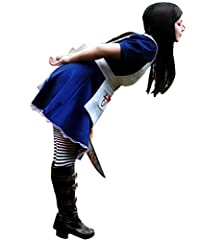 Cos2be Costume For Alice-madness Returns Alice Cosplay Update Edtion(XL