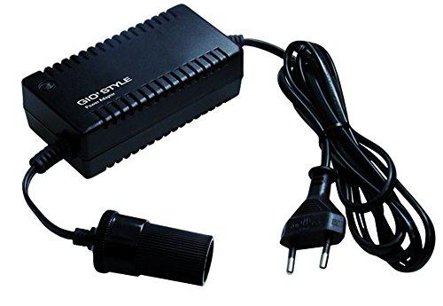 Giostyle 0610013 Adattatore, 230V AC - 12V DC, Nero