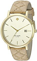 kate spade watches Metro Grand Quilted Strap Watch