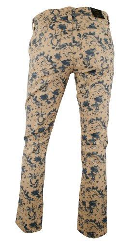 Ralph Lauren Women's Petite Straight Ankle Floral Print Jeans Pants-BM-10P