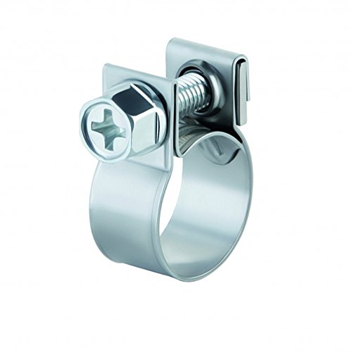 ABA 22013 Mini Stainless Fuel Injection Style Clamp 10-PK (Thin Hose Clamps compare prices)