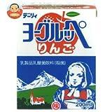 南日本酪農協同(株) デーリィ ヨーグルッペりんご200ml紙パック×24本入