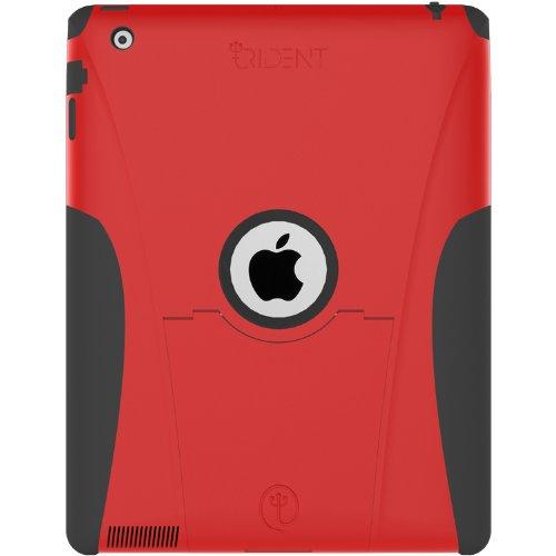 Trident Aegis Case for Apple iPad 2, Red