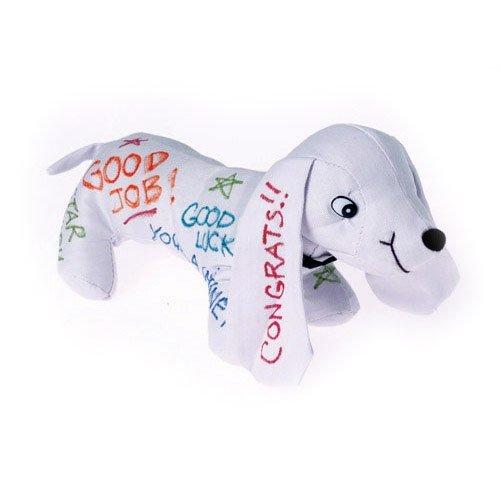 US Toy Autograph Dog Plush