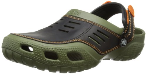 Crocs Men's Yukon Sport Army Green Clog 10931-30Q-680 10 UK