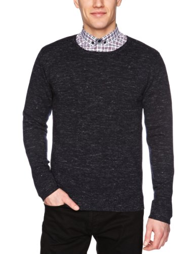 Selected Homme Gala Crew Neck F Men's Jumper Black Navy X-Large