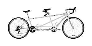 Giordano Viaggio Tandem Road Bike (White Pearl)