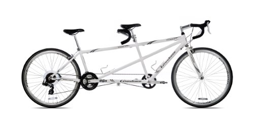 Review Giordano Viaggio Tandem Road Bike (White Pearl)