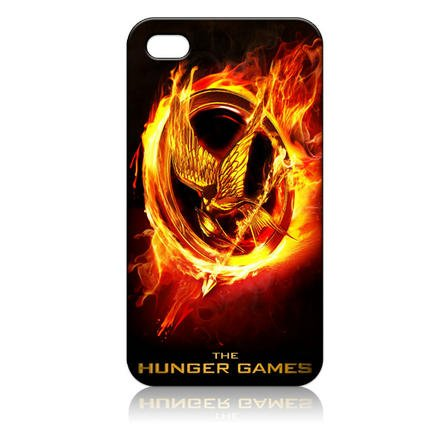 The Hunger Games Hard Case Cover for Iphone 4 4s 4th Generation - Free Plastic Retail Packaging Box