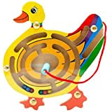 Banggood Magnetic Maze Series Educational Toys Puzzles Game Small Pen Labyrinth Duck