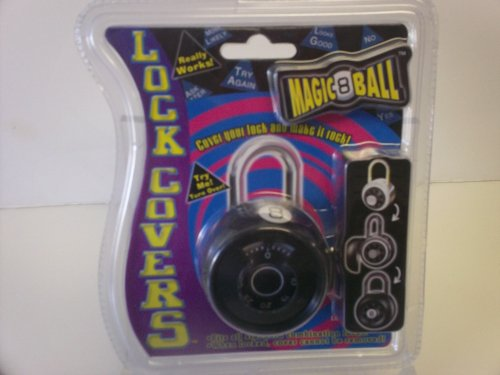 Lock Covers Magnetic Ball/ Black