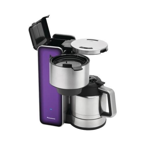 1 - Designer Coffee Maker (Violet), 900W, 8-cup capacity, NC-ZF1V