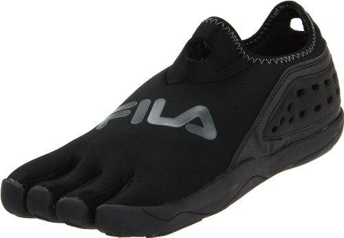 Fila Men's Skele-Toes Trifit Slip-On Shoe,Black/Pewter,9 M US