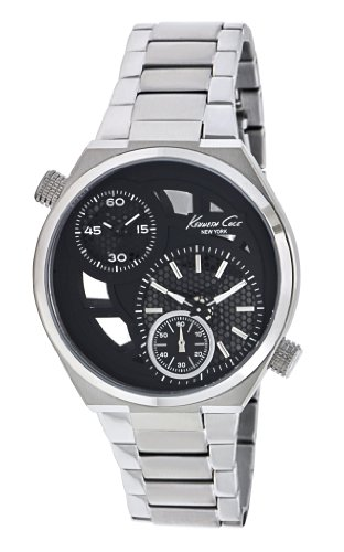 Kenneth Cole New York Men's KC3991 Transparency Classic See-Thru Dial Round Case Watch