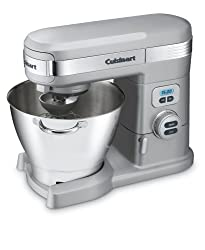Cuisinart SM-55BC 5-1/2-Quart 12-Speed Stand Mixer Brushed Chrome