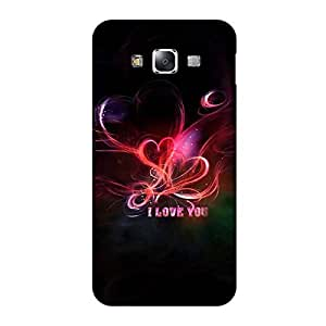 Perfect print back cover for Samsung Galaxy E7