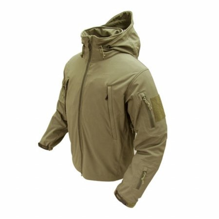 Condor Outdoor COP-602-003-00 Summit Softshell Jacket, Tan (Condor Insulated compare prices)