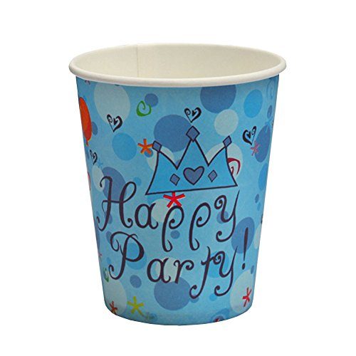 Hee Fly 50 Count Blue Party Birthday Jamboree 9-ounce Paper Cups