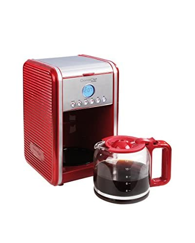 DOMOCLIP koffiepot Programmable rood