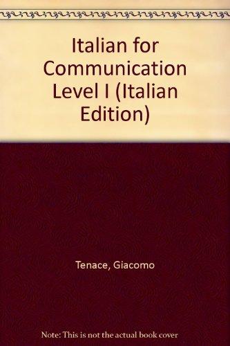 Italian for Communication Level I