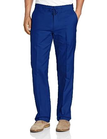Calvin Klein Sportswear Men's Drawstring Pant, Falcon Blue, 36x32