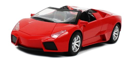 Lamborghini Murcielago Roadster 1:18 Electric RTR RC Car Rechargeable (Red) Remote Control