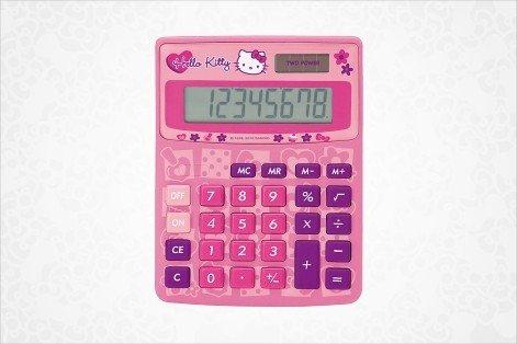 Hello Kitty Calculator: Mosaic