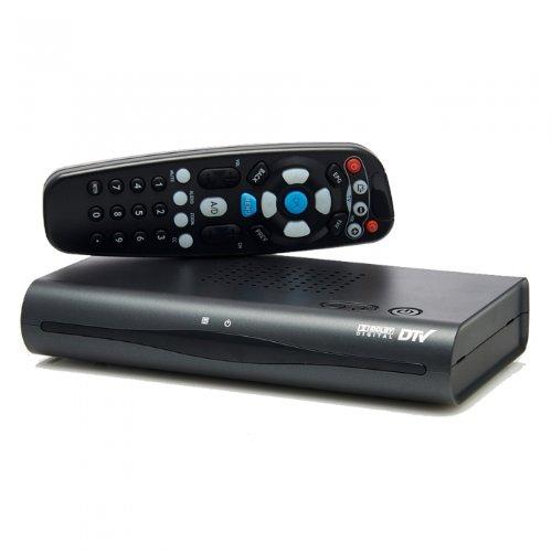 Digital To Analog Rf Signal Pass-Through Tv Converter Box
