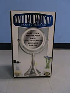 Amazon.com : Sunter Natural Daylight Vanity Makeup Mirror : Personal Makeup Mirrors : Beauty