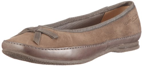 Camel Active Women's Dora Taupe/Fango Ballet 763.13.01 6 UK, 39 EU, 8.5 US