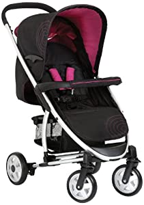 hauck Malibu All-in-One Travel System (Caviar/Berry)