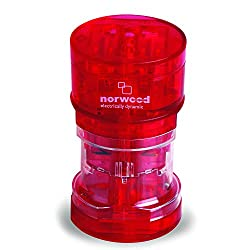 Norwood Entire World Travel Adapter, Red
