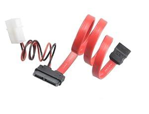 Akasa AK-CB050-40 SATA 40cm Cable for Slim Optical Drives