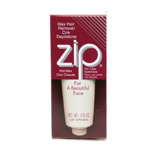 ZIP Hot Wax Hair Remover for Beautiful Face Oz 0.83