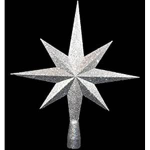 Amazon Com 8 Point Star Tree Topper Color Silver Tree Toppers Coloring Pages