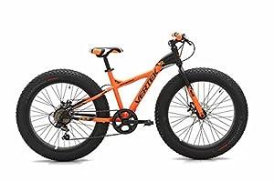 """'Vertek Fahrrad Fat Bike Fat Bull 24""""7Geschwindigkeit Orange (Fat)/Fat Bike Fat Bull 247Speed Orange (Fat) by VERTEK"""