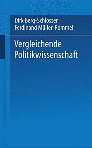Vergleichende Politikwissenschaft (Universitätstaschenbücher) (German Edition)