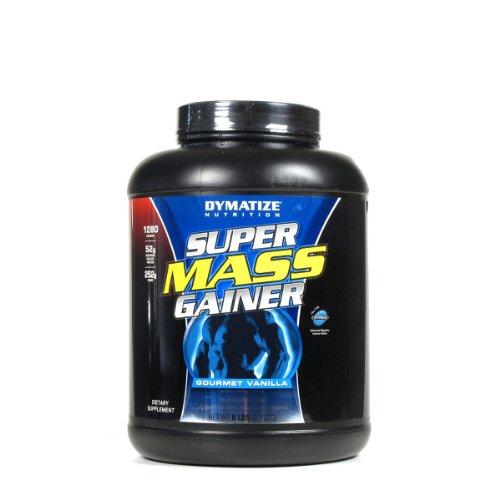 Dymatize Nutrition Super Mass Gainer, Gourmet Vanilla, 6-Pound