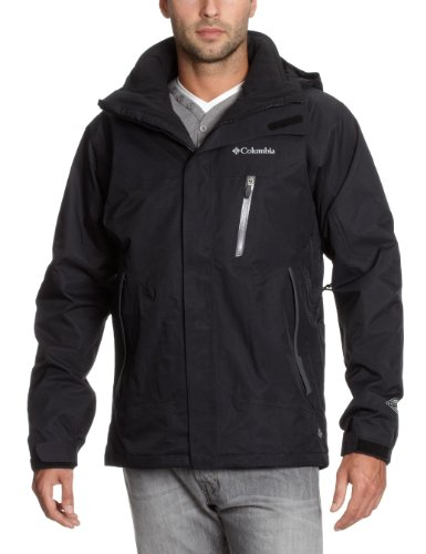 Columbia Lezoosh Interchange Men's Jacket - Black, X-Large