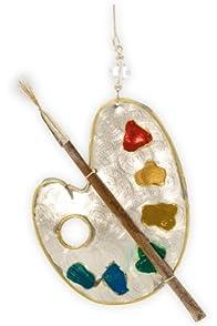 Pilgrim Imports Artist Palette Fair Trade Ornament