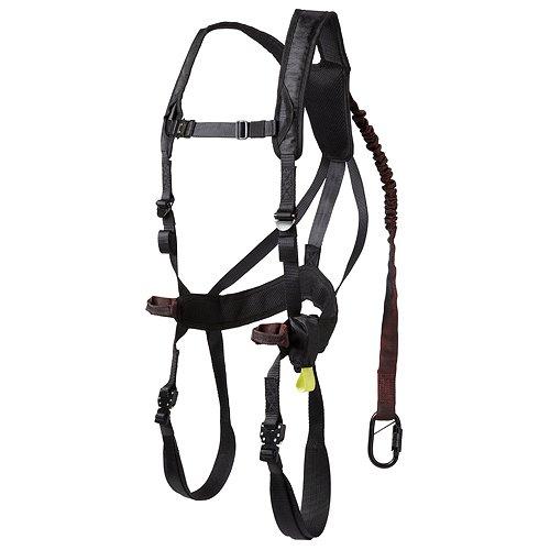 Gorilla Gear 77551 G-TAC Air Men's Safety Harness, 120-300 Pound, Black