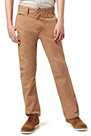 Autograph Pure Cotton Striped Chinos
