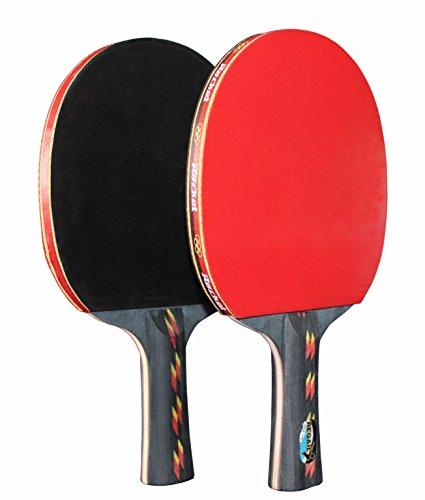 REGAIL® Table Tennis Paddle Advanced Trainning Ping Pong Racket(2 Pcs)
