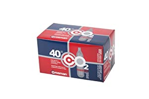 Crosman 12 Gram CO2 Cartridges (Pack of 40)