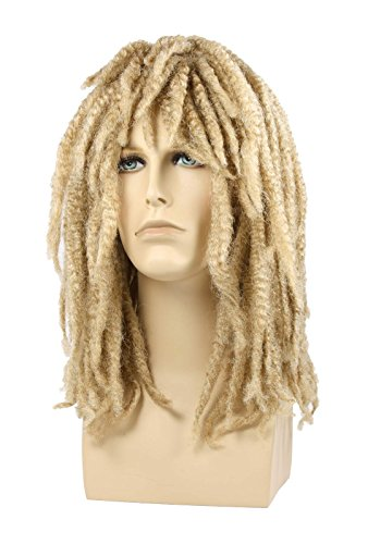 Dreadlock Rasta Wig Blonde