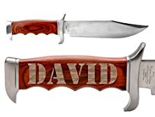 buy Name David Elk Ridge Er-012 Outdoor Hunting Fixed Blade Full Tang Bowie-Style Knife By Ndz Performance