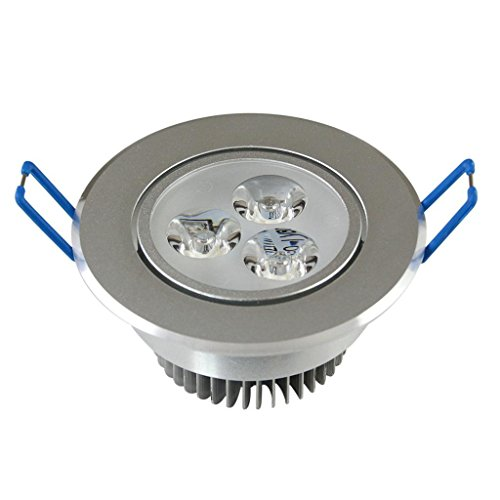 Bloomwin - 5Pcs/Lot Dimmable Led Recessed Lighting Lampe De Plafond Cool White 110V 3W Ref: L0124